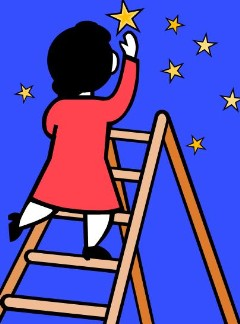 how to move up the ladder at work